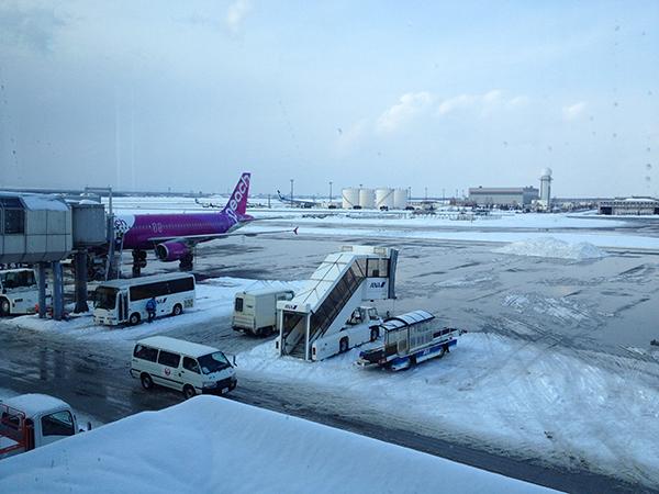 Peachで真冬の北海道(札幌)旅行にいってきたよ、というお話。