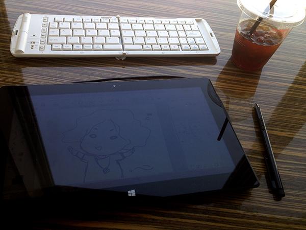 Surfaceとキーボード
