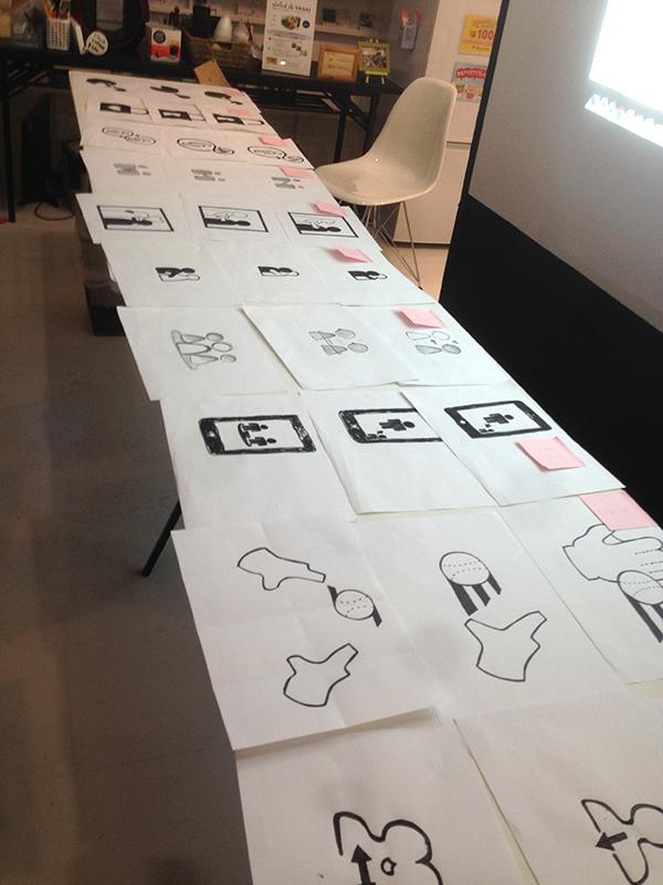 ピクトグラムのアイデアを競うハッカソン、ピクタソンに参加しました(東京・渋谷)