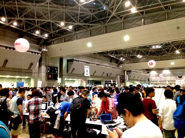 Maker Faire2015に行ってきました。