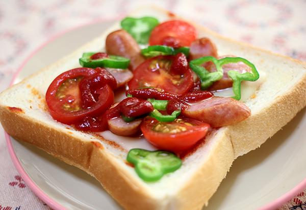 うちの簡単トースト朝ごはん【パン Advent Calendar 2015 14日目】